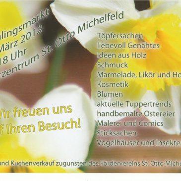 Frühlingsmarkt Michelfeld