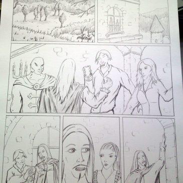Comic Das Blut Der Nacht Teil 2