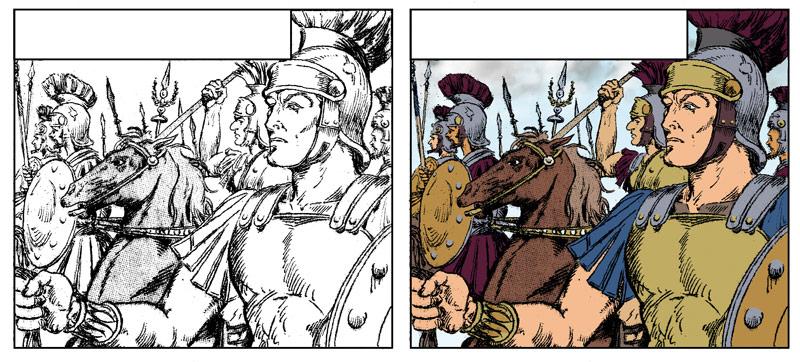armin der cherusker Römische Soldaten
