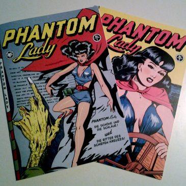Phantom Lady Nr.1 und Nr.2