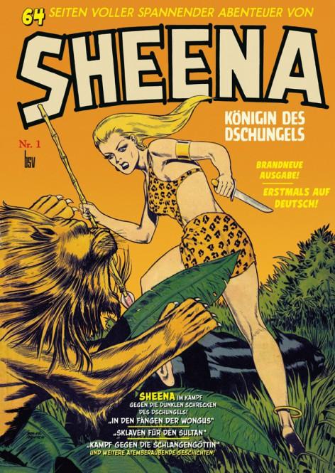 Sheena - Die Dschungelkönigin Nr 1