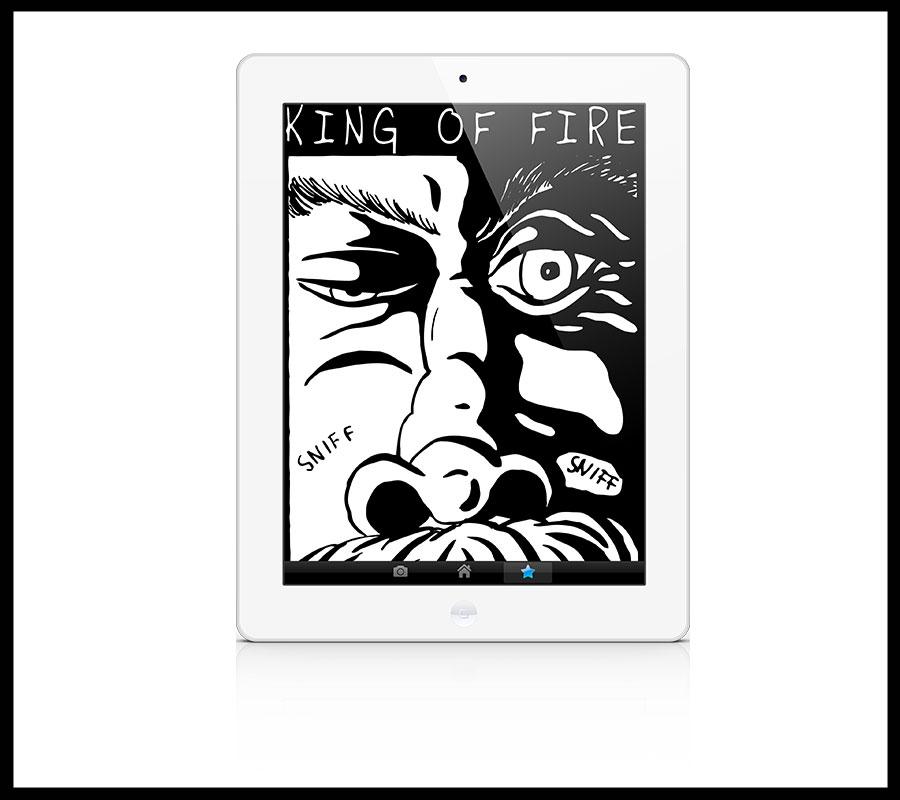 Gratis E-Comic King of Fire