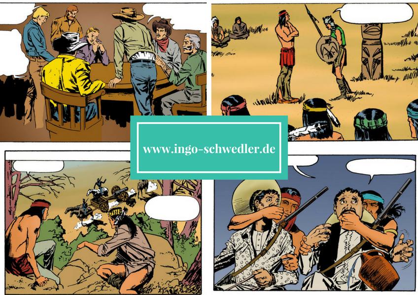 jeronimo comic western koloration ingo schwedler