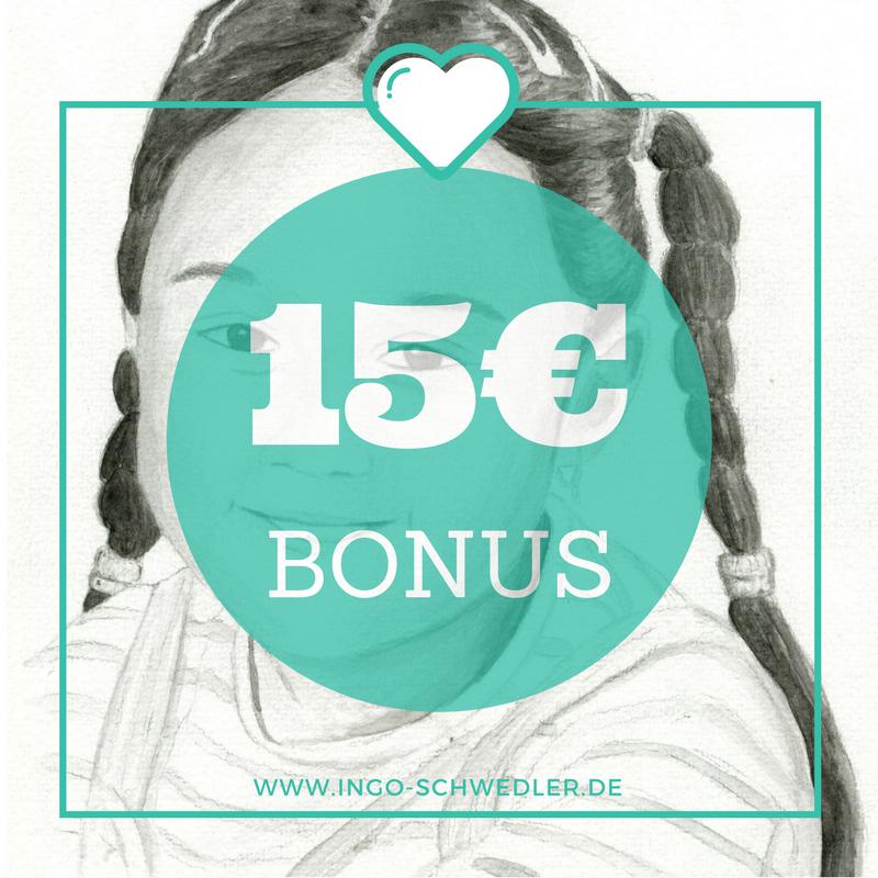 persönliche portraits für jeden anlass 15€ Bonus